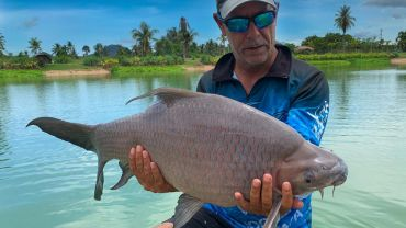 HOOKERS FISHING LAKE PATTAYA ADDS MORE FISHING OPTIONS AND FISH SPECIES